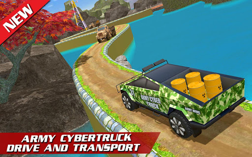 Offroad US Army Cargo Transport Truck Driving 1.1.2 screenshots 1