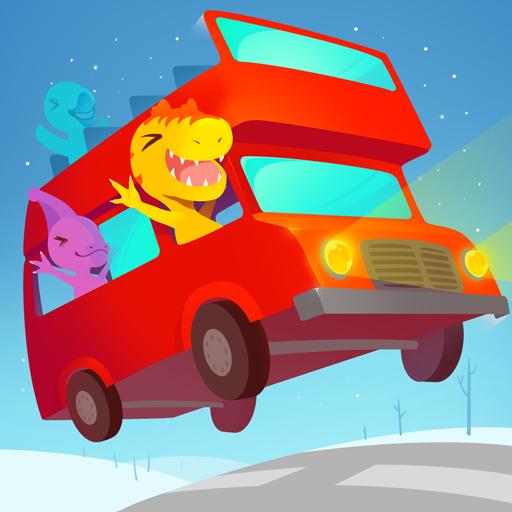Baixar Dinosaur Bus - Bus Games for kids, toddlers 3-5 para Android
