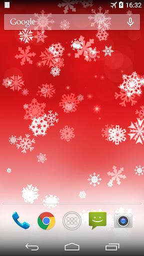 Snowflake Xmas Live Wallpaper ss3