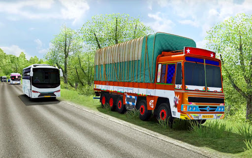 Cargo Truck Driving Games 2020: Truck Driving 3D android2mod screenshots 8