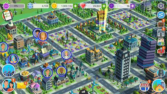 People and The City Mod Apk 1.0.706 (Free Stuff) 8