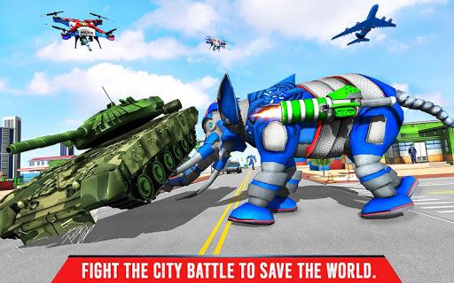 Police Elephant Robot Game: Police Transport Games 1.0.9 Screenshots 15