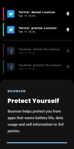 احمي خصوصيتك مع تطبيق Bouncer للاندرويد