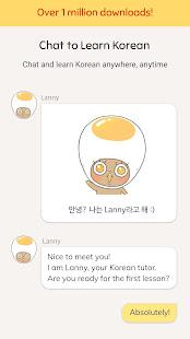 Eggbun: Learn Korean Fun 4.4.83 Screenshots 1