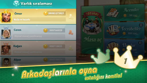 101 Okey VIP  screenshots 3
