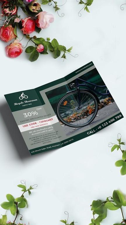 Brochure Maker - Pamphlets, Infographics, Catalog  poster 1