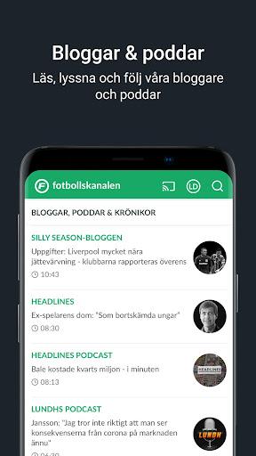 Fotbollskanalen 1.13.6 screenshots 4