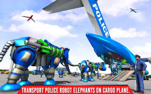 Police Elephant Robot Game: Police Transport Games 1.0.9 Screenshots 13