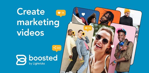 Boosted - Video Maker For Businesses & Brands Mod By ChiaSeAPK.Com