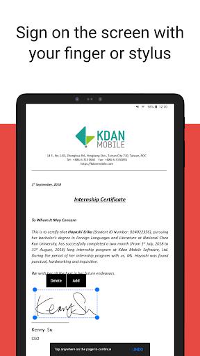 PDF Reader - Sign, Scan, Edit & Share PDF Document screenshots 12