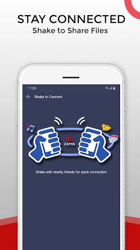 Zapya - File Transfer, Share Apps & Music Playlist Screenshots 2