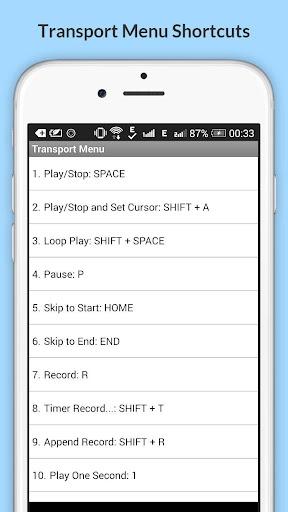 Free Audacity Shortcuts 6.6.6.2 Screenshots 21