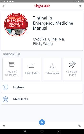 Tintinalli's Emergency Medicine Manual App  Screenshots 6
