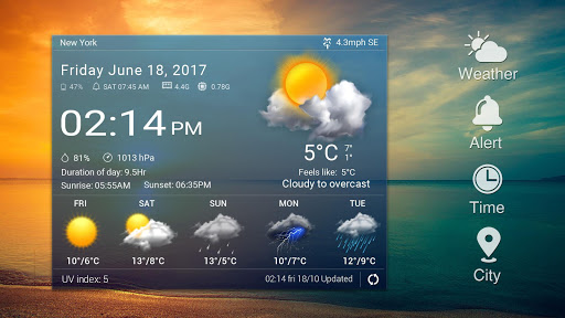 Real-time weather forecasts 16.6.0.6325_50165 Screenshots 7