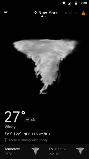Live Weather & Accurate Weather Radar - WeaSce android2mod screenshots 6