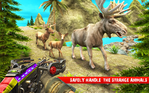 Deer Hunting 3d - Animal Sniper Shooting 2020 apktreat screenshots 1