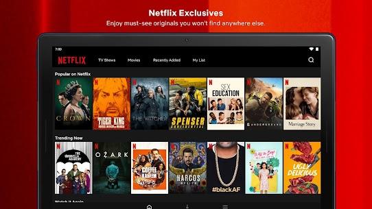 Netflix Mod Apk Premium + AD Free (4K /HDR / All-Region) 10