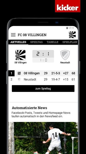 FC 08 Villingen screenshot 2