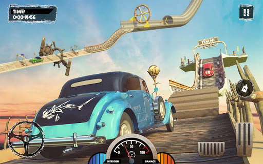 Extreme Stunts Car Chase Ramp GT Racing Car Games screenshots 14
