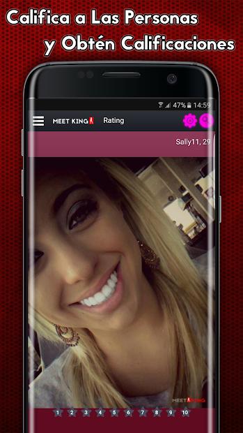 Screenshot 8 de Citas de adultos - MeetKing para android