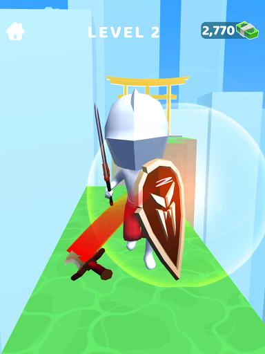 Sword Play! Ninja Slice Runner 3D  screenshots 21