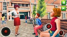 高 学校 先生 シミュレーター 仮想 学校 ゲームのおすすめ画像4