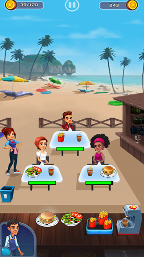 Cooking Cafe - Food Chef apkslow screenshots 10