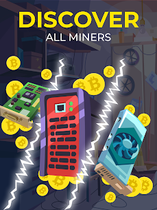 The Crypto Merge Mod Apk- bitcoin mining simulator (Unlimited Money) 8