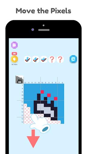Dynogram - Dynamic nonogram, Dynamic drawing logic screenshots 5