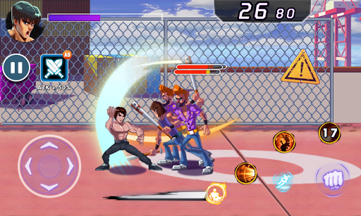 Superhero Captain X vs Kungfu Lee apkpoly screenshots 3