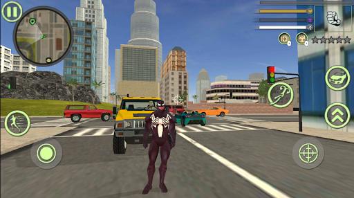 Neon Spider Rope Hero : Vice Town 1.0 Screenshots 1
