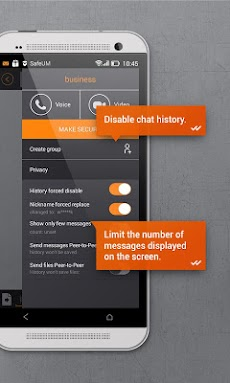 Secure messenger SafeUMのおすすめ画像2