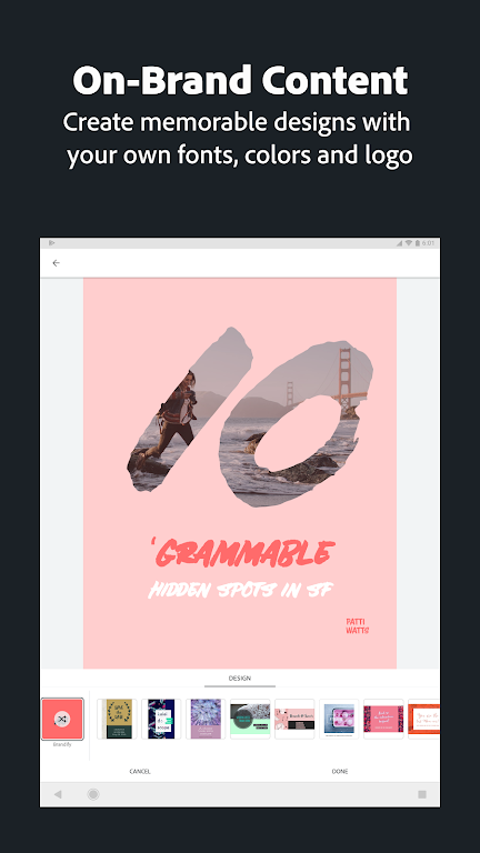 Adobe Spark Post: Graphic Design & Story Templates  poster 13