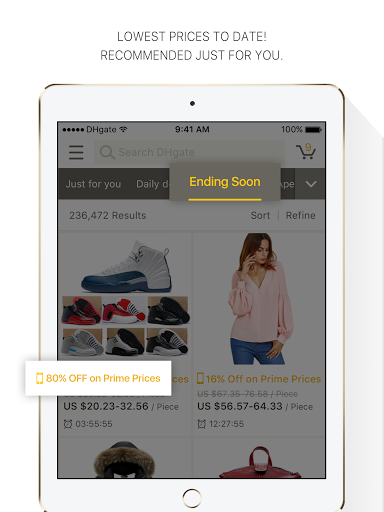 DHgate - online wholesale stores Apkfinish screenshots 7