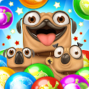 Pug Pop Bubble Shooter: Dog Bulldog Shoot Ball Egg