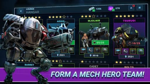 Fusion Guards: Idle Robots Mech War Tech Battle 1.0.9 pic 1