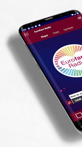 Eurofans Radio screenshots 1