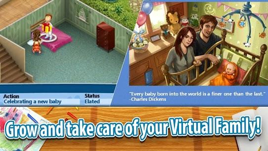 Virtual Families 2 MOD APK 1.7.6 Hacked (Unlimited Money) 3