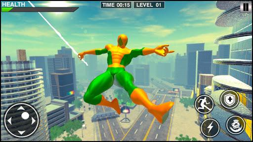Rope Frog Hero: Rope Ninja Fighting Games 1.0.5 screenshots 2
