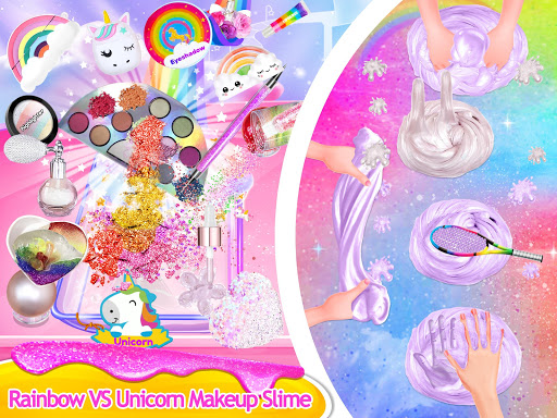 Makeup Slime - Fluffy Rainbow Slime Simulator 1.6.1 screenshots 15