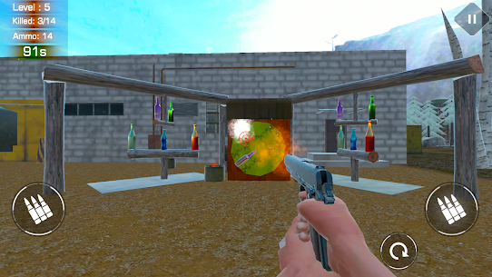 BOTTLE SHOOTING RANGE – ACCURACY TRAINING Game Hack Android and iOS 3