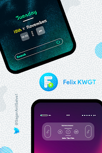 Felix KWGT v9.0.0 [Paid] APK is Here ! [Latest] 4