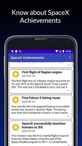 Follow SpaceX  screenshots 5
