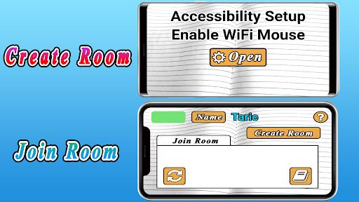 Foto do Wi-Fi Mouse