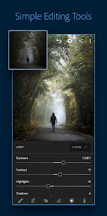 Adobe Lightroom CC – Photo Editor & Pro Camera 1