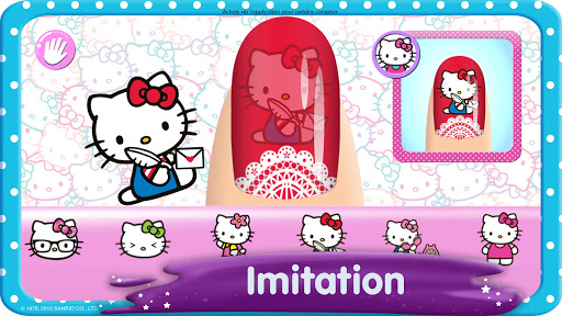 Code Triche Salon de manucure Hello Kitty (Astuce) APK MOD screenshots 3