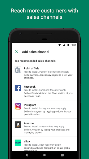 Shopify - Your Ecommerce Store 9.20.0 APK screenshots 2