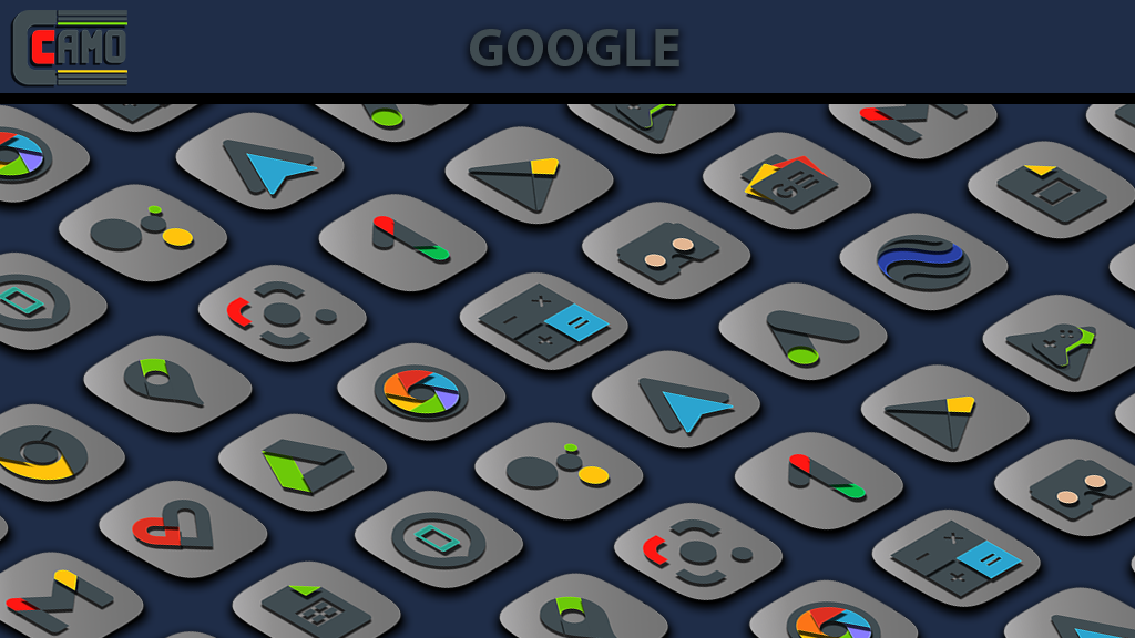 Camo Light Icon Pack  poster 1