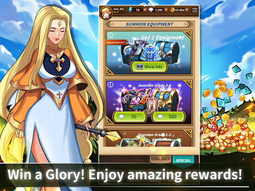 Epic Heroes Adventure : Action & Idle Dungeon RPG android2mod screenshots 16