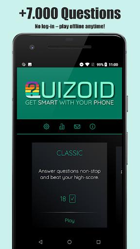 Quizoid: Offline Trivia Quiz 2020  screenshots 1